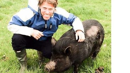 Milo the pot bellied pig was snapped up by comedian John Bishop's family after a video of him was sp