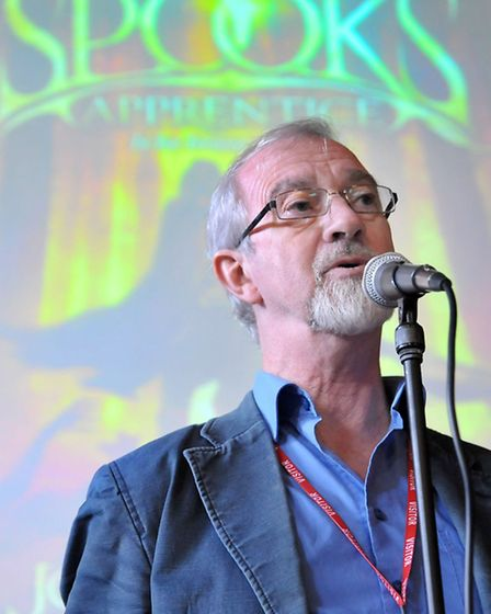 Author Joseph Delaney visits Ely College to give talks the students. Picture: Steve Williams.