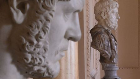 Back home, the busts returned to Wimpole Hall, Cambs