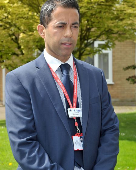 Una Crown Press conference.Wisbech. Det Chief Inspector Sharn Basra.Picture: Steve Williams.