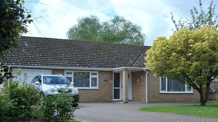 Una Crown Press conference.Wisbech. Bungalow where Una Crown was murdered.Picture: Steve Williams.
