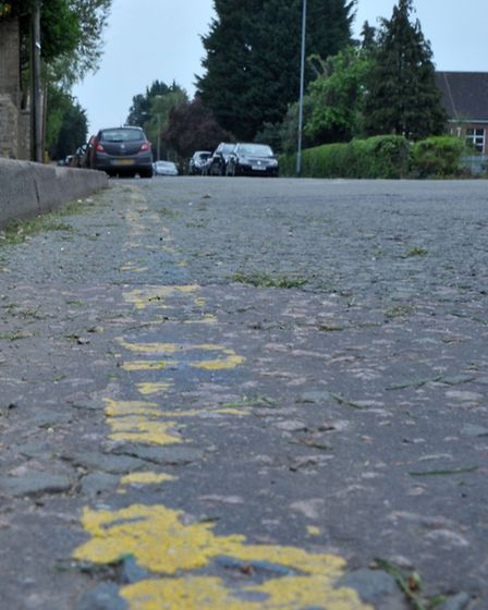lines on Wenny Rd outside Cromwell college, Chatteris. Picture: Steve Williams.