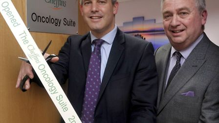 Official opening of the oncology suite by Steve Barclay MP at the St George's Medical Centre, in Lit