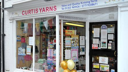 Yarn shop day, Curtis Yarns,Ely. Picture: Steve Williams.