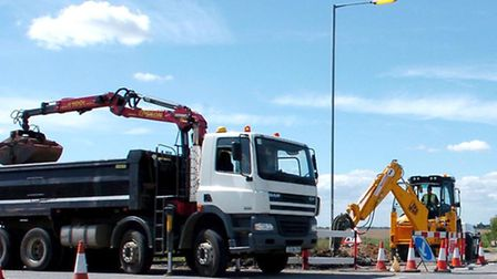 The campaign has been launched in response to physical and verbal abuse aimed at road workers.