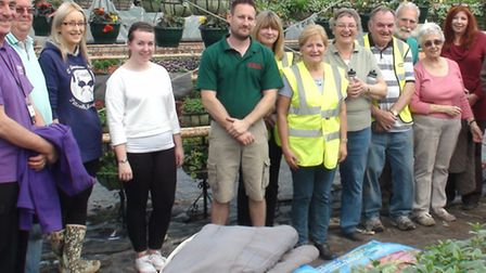 Team Photo at Delflands Nursery