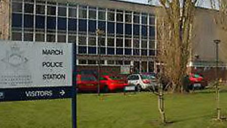 March police station.