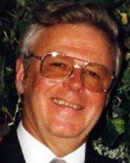 David Gray from Manea who died following a blunder from a locum doctor. Dr Ubani.