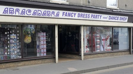 The building used to be fancy dress shop Abracadabra. Picture: PETER UPTON