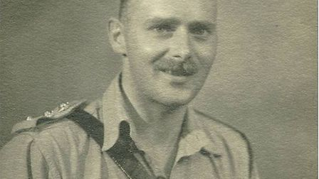 Capt Page during the Second World War