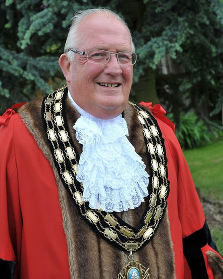 Mayor of March, Cllr Kit Owen. Picture: Steve Williams.