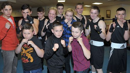 March ABC boxing show. March Boxers. Picture: Steve Williams.