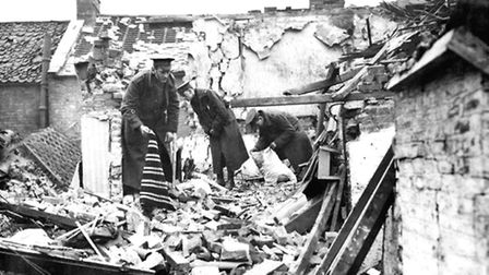 Pictures showing destruction in King's Lynn caused by the Zeppelins will feature in the documentary.