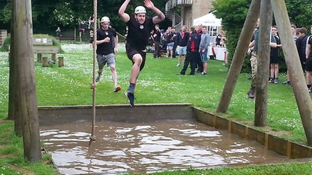 Challenge Day organised by the Uniformed Services section of the College of West Anglia.