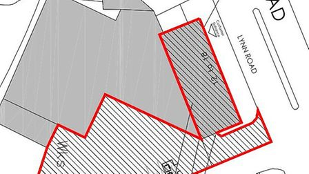 Proposed site plan.