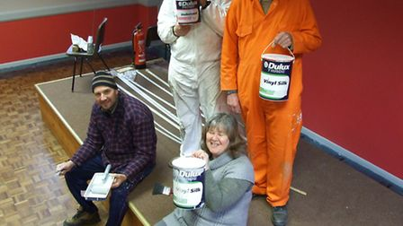 Gedney Dyke Village Hall has unveiled a brand new look thanks to a generous paint donation from the