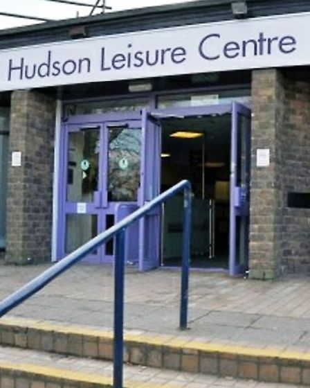Hudson leisure centre, Wisbech, how it used to look