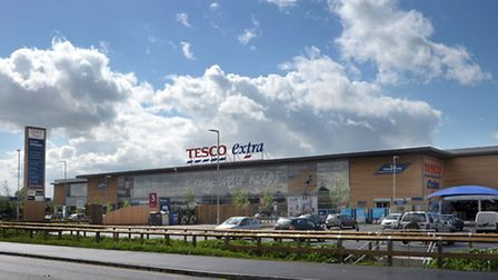 Tesco Extra, Cromwell Road Wisbech. Picture: Steve Williams.
