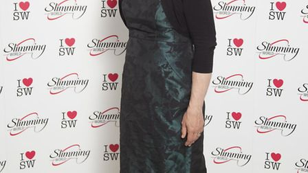 Lesley Richardson after the weight loss.