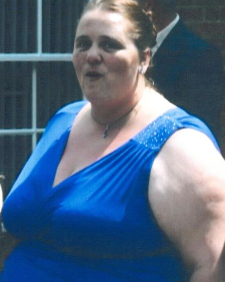 Lesley before the weight loss.
