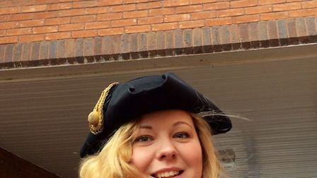 Wisbech mayor Samantha Hoy took this 'selfie' for a Horsefair Shopping Centre self photo competition