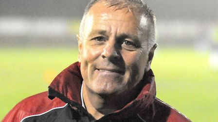 Wisbech Town manager Dick Creasey.
