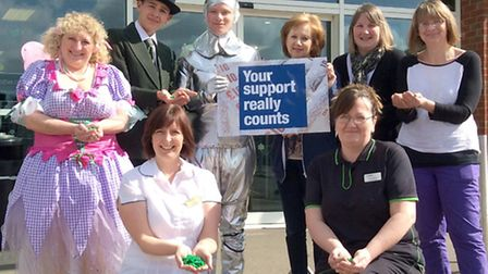 community fundraising campaign launch - Littleport