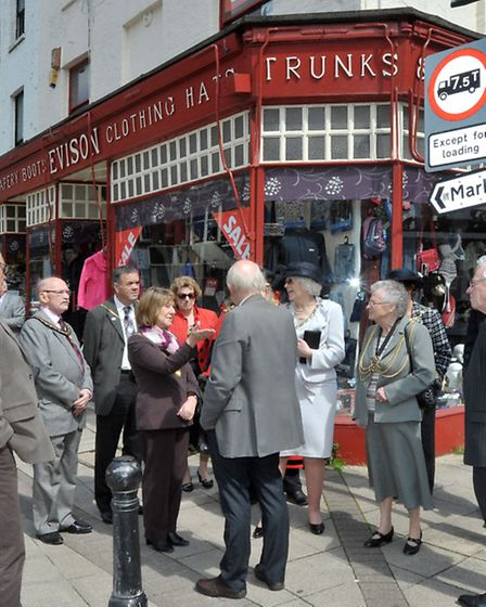 Wisbech Arts Festival opens today with a walk around Wisbech with town mayors from far and wide. Hig