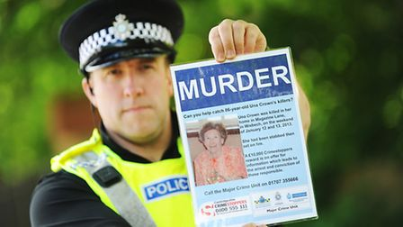 Detectives are re-launching the investigation into the murder of Wisbech pensioner Una Crown. Pictur