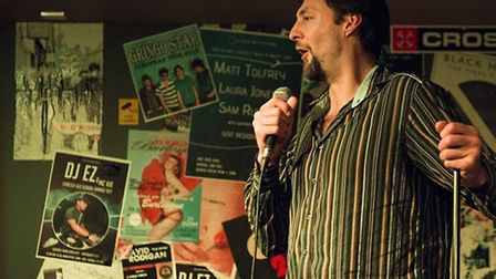 Last year's Chelmsford Comedian of the Year competition winner Leo Kearse.