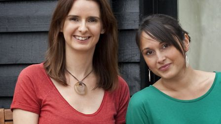 Emerald Frog's Jo Evans and Cheriee Chater