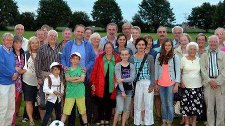 Families from Fenland and Nettetal had a great time getting to know eachother.