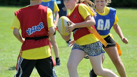 Neale-Wade Academy, March. Sports Festival. Picture: Steve Williams.