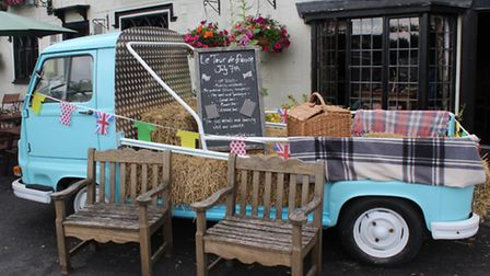 Finchingfield is gearing up for the Tour de France.