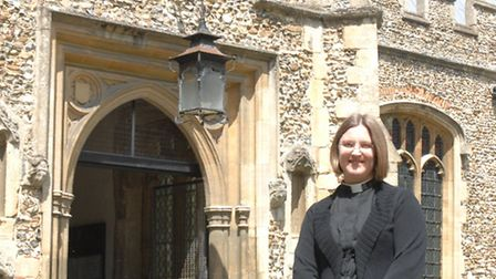 Reverend Ruth Patten is the new vicar at St Mary's Church