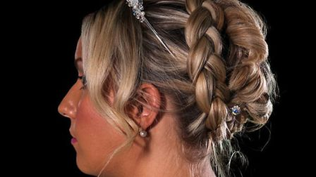 Brides had their hair and make-up done. Picture: NICK LOVELL