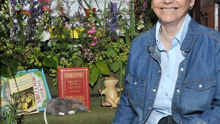 St Peters church Flower show. Upwell. Anne Godfrey. Picture: Steve Williams.