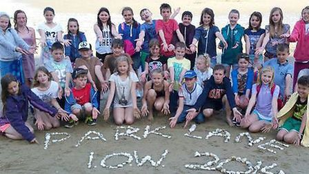 Everybody's gone surfin', surfin' Isle of Wight. Primary school pupils from Whittlesey recently spen