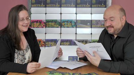 Games company launches new murder mystery board game. Lynda and Tim Cowles launch a new murder myste