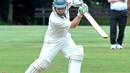 March cricket v Nassington. Chris Budd in action. Picture: Steve Williams.