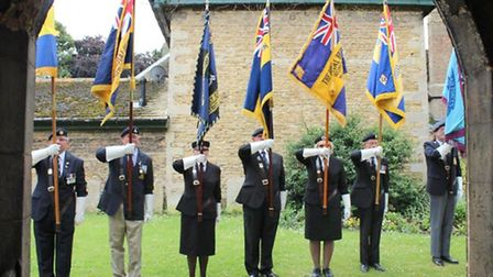 Armed Forces Day/WW1 service at St Mary's church Whittlesey.