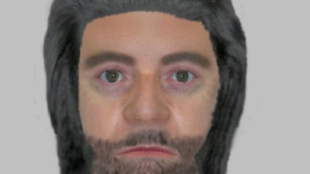 Police are appealing for people to name a man depicted in an efit image suspected of accosting a 13-