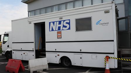 Public Health England offered screening to factory workers. Picture: ROB MORRIS