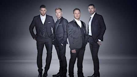 Boyzone perform at Thetford Forest on July 11.