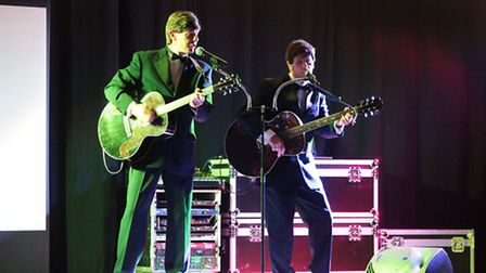 Dunmow Rotary staged the free senior citizens concert featuring the Ultimate Everly Brothers.