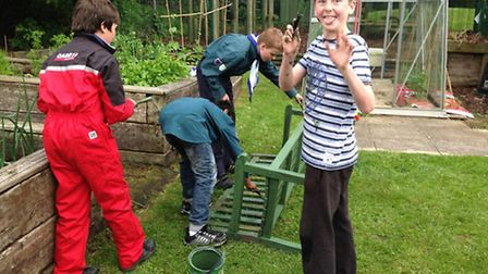 Scouts from across Ely took part in Community Work Week