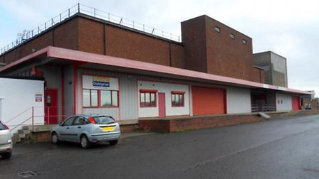 The warehouse in Chettisham which is subject to a planning applicaton.