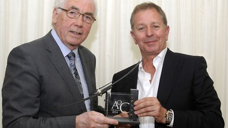 Martin Brundle with Lord Willis.