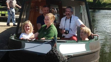 Fox Narrowboats charity of the year gets another boost