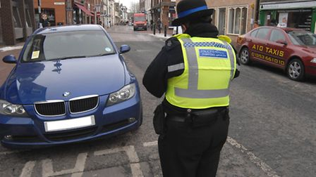 Ely's team of PCSOs say they are tackling problem parking.